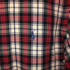 Ralph Lauren plaid button down men's S